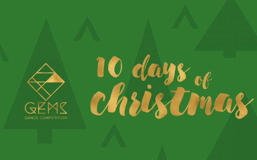 10 Days of Christmas Countdown 2018